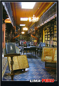 Library in San Fransico Cathedral